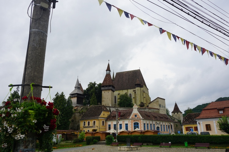 Fortified Church in Biertan, Romania