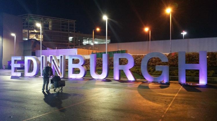 4 am at Edingburgh airport