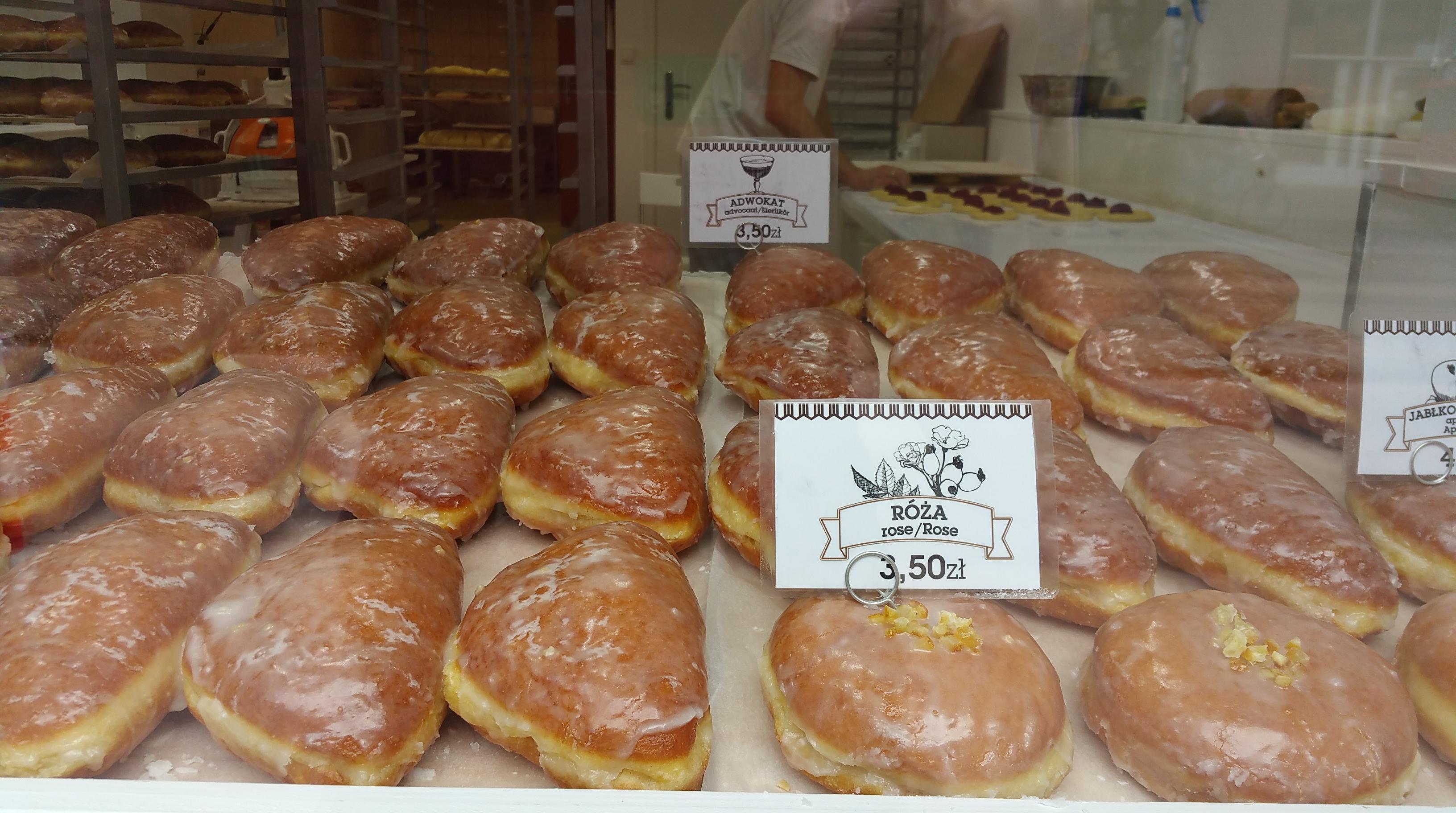 polish donuts....mmmm